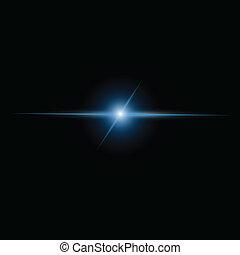 Abstract beam Light