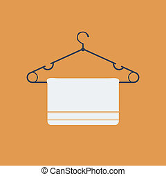 clothes hanger Flat Icon