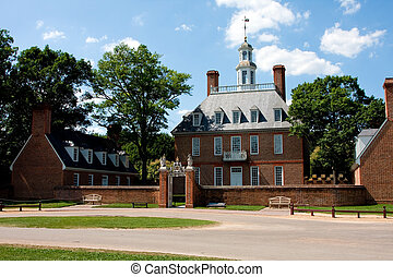 Governor\'s Palace - The Governor\'s Palace in Colonial...