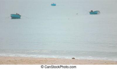 Ocean waves. - Ocean waves on the Mui Ne, Vietnam.