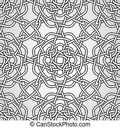 Vector Celtic Seamless Pattern, fully editable eps 10 file...