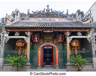 Thien Hau Pagoda, Ho Chi Minh City - The entrance of Thien...