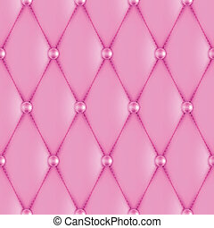 luxury pink leather