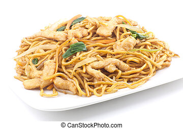 Chinese Chicken Lo Mein - Delicious chinese food, chicken Lo...