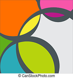 Abstract Geometric Background Vector Illustration -...
