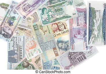 Money different countries - Money signs of the different...