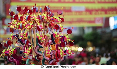 chinese new year celebration, bangkok, thailand - BANGKOK,...