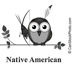 Native American - Bird Native American culture message...