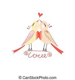 vektor wonderful love