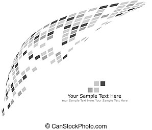 black and white checked background - Abstract checked...
