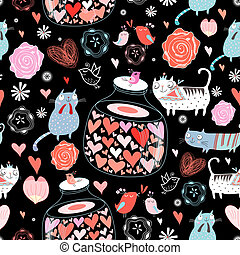 texture of cat lovers