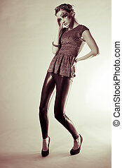 Fashion shoot in the studio