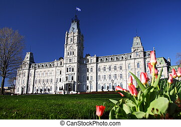 Quebec City Parliament - Quebec Parliament building...