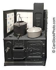 Antique Coal Cooker