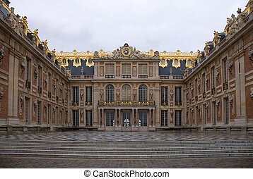 Palace of Versailles - A view of the Palace of Versailles,...