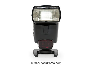 Strobe Flash light for SLR Camera with white background