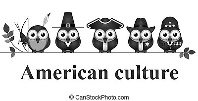 American culture - Depiction of American culture through...
