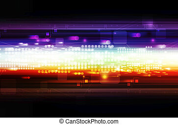 fantasy abstract illustration background