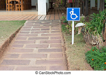 Handicapped ramps