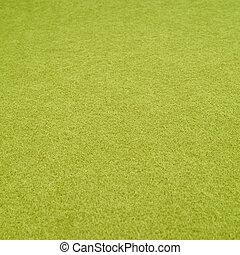 Felt cloth fragment - Green felt cloth fragment, shallow...