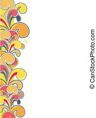 colorful ornamental border