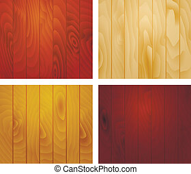 Wooden texture planks