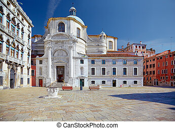 Church San Geremia in Venice, Italy - Church San Geremia and...