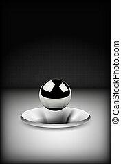 steel sphere