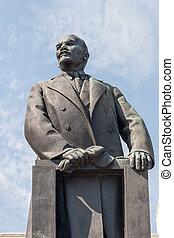Statue of Lenin, Minsk - Bronze Statue of Vladimin Lenin,...