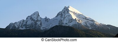mount watzmann in the Berchtesgaden alps