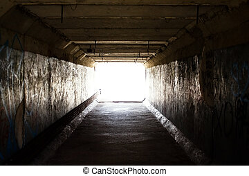 luz, Fim, túnel