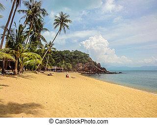 Thailand 2 - Mae Nam beach in Koh Samui Thailand