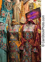 Omani Typical dresses - Typical Omani women dresses in a...
