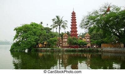 Hanoi, Vietnam, Tran Quoc Temple Pagoda