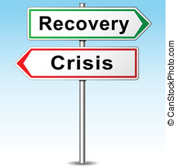 Vector recovery and crisis direction sign