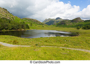 langdale pikes Blea Tarn The lakes - Blea Tarn Lake District...