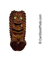 Tiki Idol - an old tiki idol souvenir