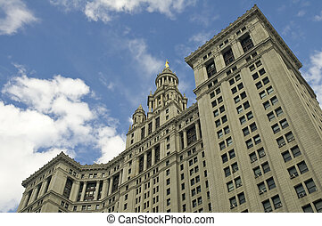 City Hall in New York City Manhattan
