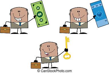Businessman Dude 11. Collection Set