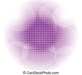 Light purple dot circle background