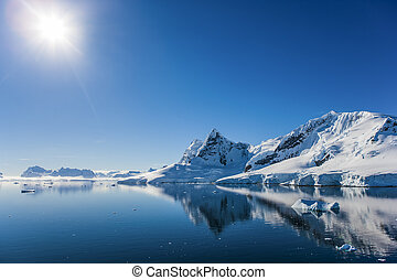 Paradise Bay, Antarctica - Beautiful afternoon at Paradise...