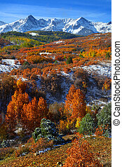 Dallas divide landscape - Scenic landscape of Dallas divide...