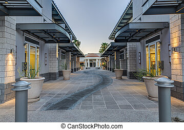 Downtown Scottsdale Arizona in the - The Old Town Arts...