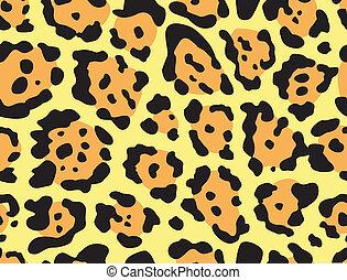 Leopard print  - Seamless leopard print