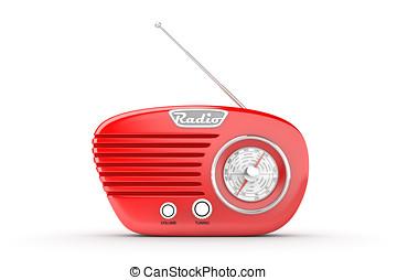 old radio - vintage radio