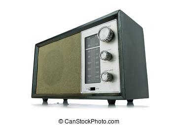 old radio - vitage radio