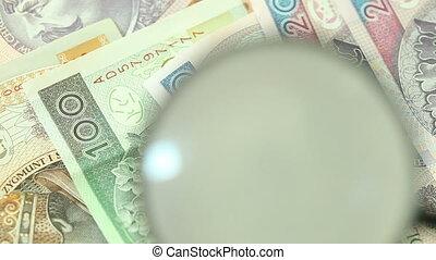 Polish zloty banknotes