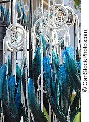 Dream catchers  - Blue dream catchers