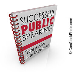 Successful Public Speaking Book Cover Help Advice Giving...