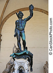 Perseus with the Head of Medusa - Perseus with the head of...